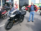 Reg and his latest acquisition - A very cool Ninja 650